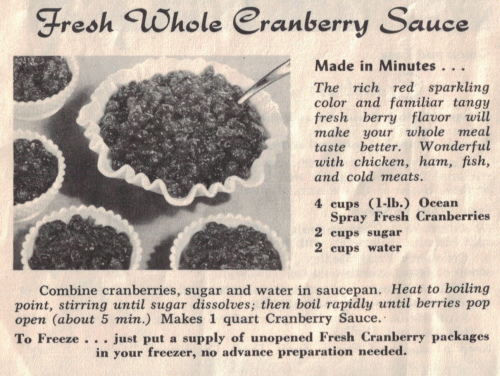 Fresh Whole Cranberry Sauce Recipe