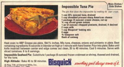 Impossible Tuna Pie Recipe