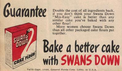 Swans Down Guarantee (1944)