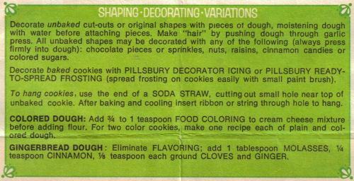 Shaping - Decorating - Variations