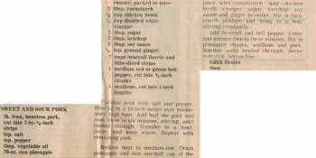 Sweet & Sour Pork Recipe