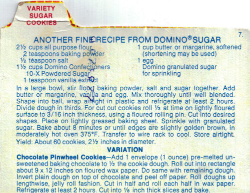 Variety Sugar Cookies Recipe From Domino Sugar