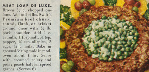 Meatloaf Deluxe Recipe Clipping
