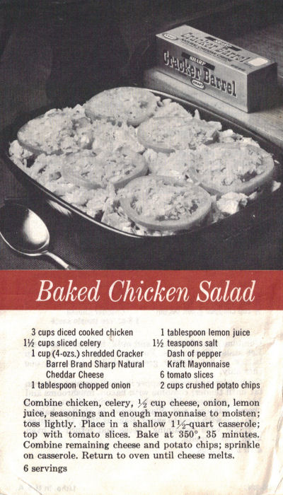 Recipe For Baked Chicken Salad