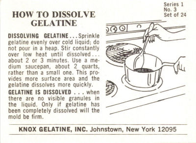 How To Dissolve Gelatine Promo Card