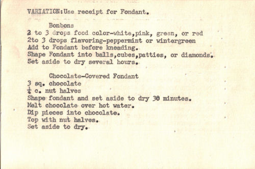 Homemade Fondant Recipe & Variations