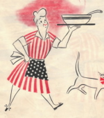Cover of Vintage Recipes For Today Cookbook