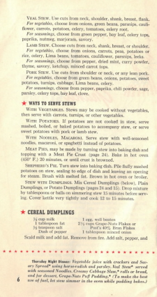How To Make Grand Stews - Page 6