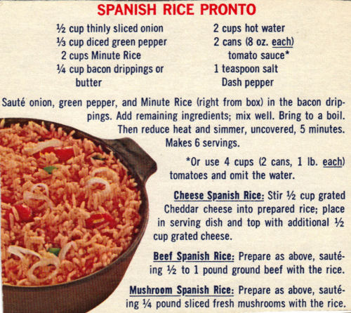 Recipe Clipping For Spanish Rice Pronto