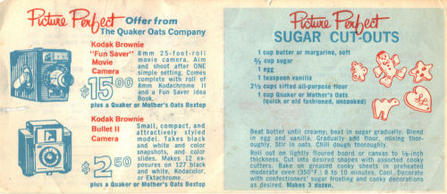 Vintage Sugar Cutouts Recipe