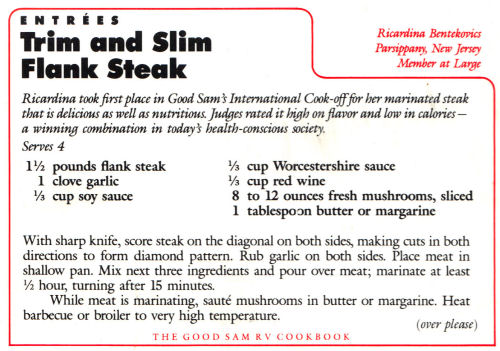 Trim And Slim Flank Steak Recipe