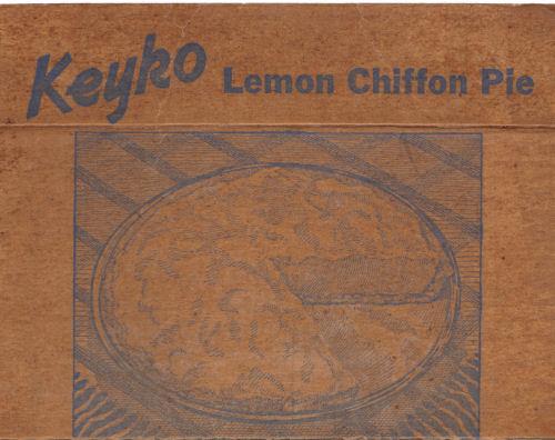 Keyko's Lemon Chiffon Pie