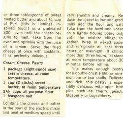 Cream Cheese Pastry - Recipecurio.com