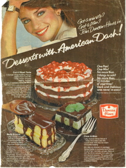 Duncan Hines Recipe Clippings
