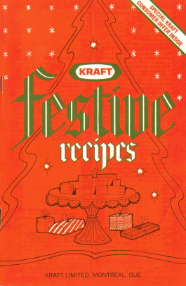 Kraft Festive Recipes Booklet - Recipecurio.com