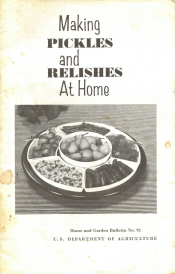 Making Pickles And Relishes At Home
