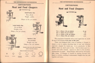 Antique Meat & Food Chopper Illustrations - Click To View Larger