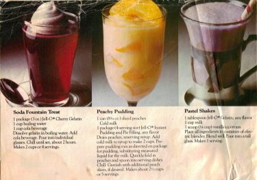 Jello Kid's Stuff Dessert Recipes - Click To View Large