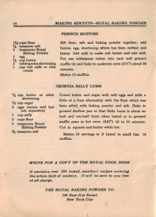 Other Kinds of Muffins - Click To View Larger