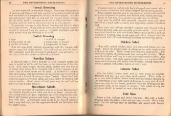 Salad Tips & Recipes - The Enterprising Housekeeper - Click To View Larger