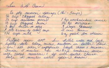 Tuna a la Cream Recipe