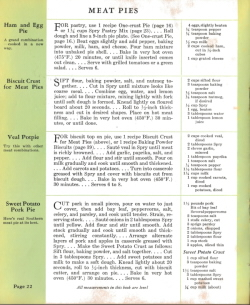Meat Pies - Spry: What Shall I Cook Today - Click To View Larger