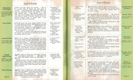 Sauteing - What Shall I Cook Today? Click To View Larger