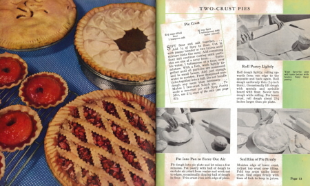 Two-Crust Pies - Spry: What Shall I Cook Today - Click To View Larger