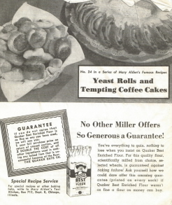 Yeast Rolls and Tempting Coffee Cakes