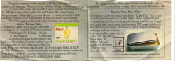 Yellow Lemon Cake Jello Ad - Click To View Larger